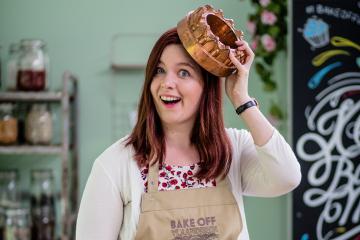 Julie van den driesschen, bake off vlaanderen 2018, eigen cake, fairytalebaking